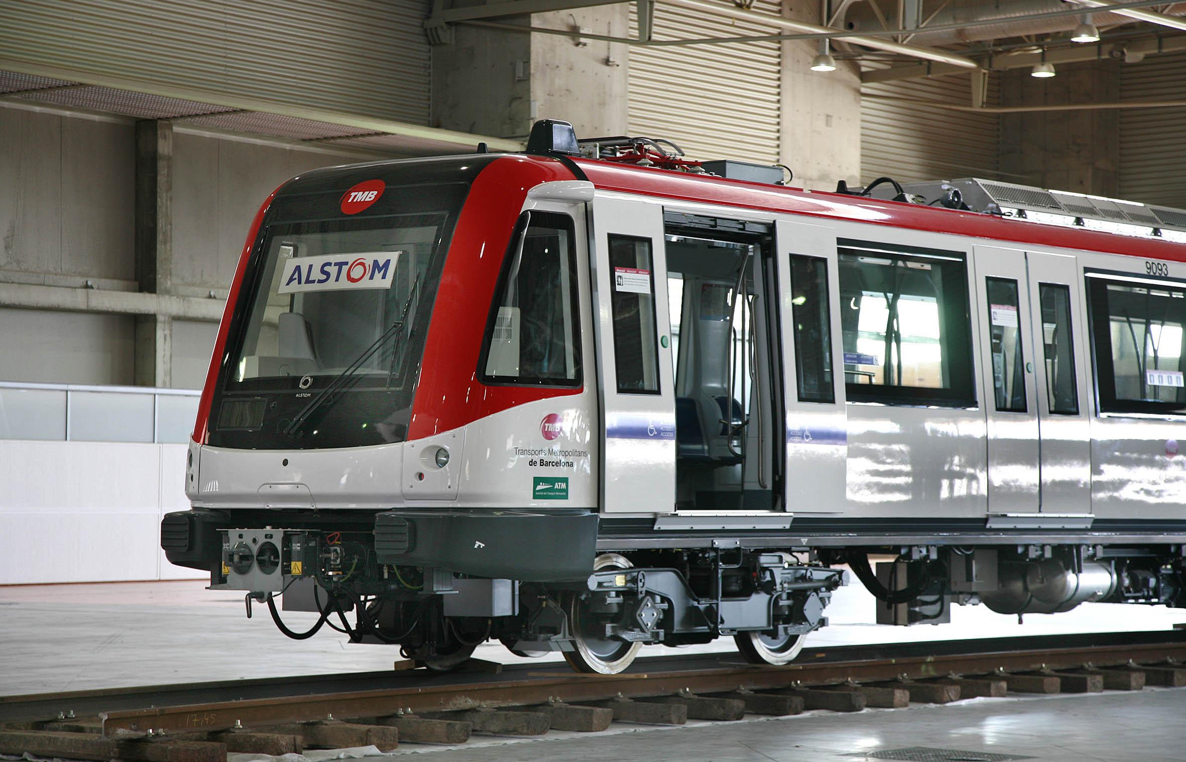 Nuevos vagones del metro de Barcelona